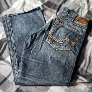 Men's Silver jeans Gordie